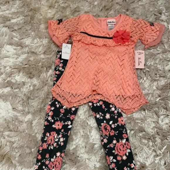 Adorable girls two piece set